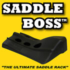 4 Western Saddle Racks by Saddle Boss for Horse Trailers, Tack Room or Barn