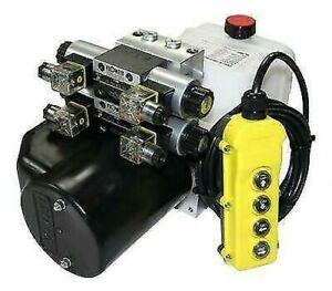 Flowfit 24V Dc Double Agissant Solénoïde Hydraulique Puissance Lot 4.5L D ZZ00