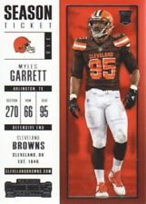 Carte collezionabili football americano singoli cleveland browns