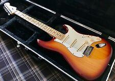 2013 Fender American Standard Stratocaster - CUSTOM SHOP PUPS - Sienna - Maple