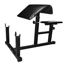 Protoner Adjustable Preacher Curl Bench For Weight Lifting Home Gym package