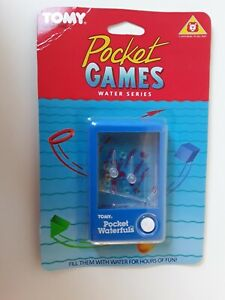 VINTAGE1983 - TOMY POCKET GAMES WATER SERIES - RING TOSS - NEW ON SEALED CARD