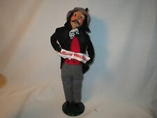 Byers Choice 1993 Rare Gent with Merry Christmas Banner