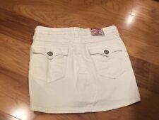 Girls White True Religion Skirt size 14