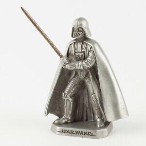 Darth Vader | Vintage 1990s Star Wars Figure by Rawcliffe Pewter