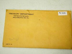 1957 US Silver  Proof Set Original Envelope 9-106