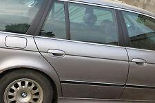 Tür BLANK hinten rechts aspensilber met. 339/7 * BMW 5er E39 * Intern 12 *