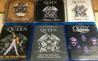 """QUEEN / """"Auction""""  6TITLE COLLECTOR'S SET 6CD+4BR"""