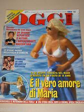 OGGI=2005/32=MARIA DE FILIPPI=AIDA YESPICA=LORELLA CUCCARINI=FILIPPO MAGNINI=