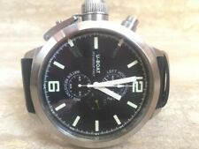 U Boat Left Hook Chronograph B53-08 LIO46M 53 mm Limited Edition Stainless Steel