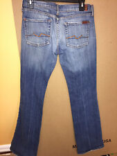 Seven 7 For All Mankind Denim Jeans Size 29  Boot cut NICE pants Women Regular