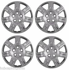 "NEW 2006-2011 Honda CIVIC 16"" Bolt-On Hubcaps Wheelcovers SET of 4 CHROME"