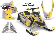 Snowmobile Graphics Kit Sled Decal Wrap For Ski Doo Rev XP Summit 08-12 WARHWK Y