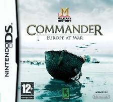 NINTENDO DS 3DS COMMANDER EUROPE AT WAR Panzer General *NEU