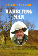 TAYLOR FRED J FERRETING BOOK RABBITING MAN TERRIERS paperback BARGAIN new