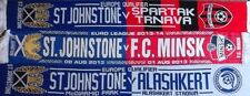 ST.JOHNSTONE F.C. SCARF  UEFA EUROPA LEAGUE SCARF SET