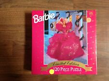 1990 Holiday Barbie puzzle-120 pieces-NRFB-L.E.