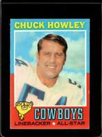 1971 TOPPS #238 CHUCK HOWLEY VGEX COWBOYS NICELY CENTERED  *X2640