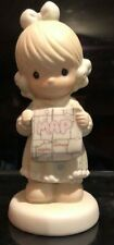 Precious Moments-I Would Be Lost Without You-Girl w/Map New W/O box