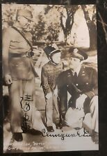 Mint China RPPC Postcard Ching Wah Lee Butch Movie Scene Autographed