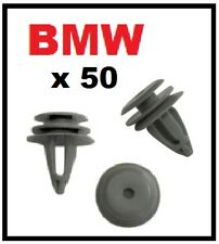 50 x BMW Interior Door Card Trim Panel Covers Fascia Clips for 1 and 3 series