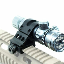 Side Offset 30mm Ring 20mm Picatinny Rail RIS Scope Mount For Torch Laser Sight