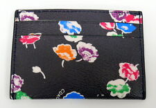 Coach Card Case Wildflower Print Coated Canvas Flat Card Case NWT  $65