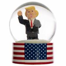The President Snow Globe - American Flag Donald Trump - Fun Figurine