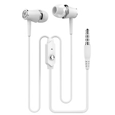 Universal 3.5mm In-Ear Stereo Earbuds Gaming Earphone For Phone Pc W/MIC WE