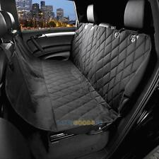 Waterproof Pet Cat Dog Back Car Seat Cover Hammock Protector Mat Blanket Black #