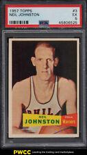 1957 Topps Basketball Neil Johnston ROOKIE RC #3 PSA 5 EX (PWCC)