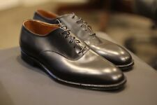 Alden 935 Black Leather Plain Toe Balmoral Oxford Shoes US Made New Size 10 D