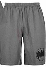 Official Batman Mens Short Pyjama Lounge Shorts Bottom Logo DC Comics LARGE A132