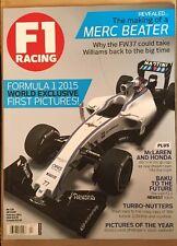 F1 Racing World Exclusive Merc Beater McLaren & Honda Feb 2015 FREE SHIPPING!