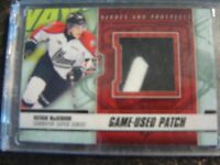 Nathan Mackinnon 2013 ITG Heroes And Prospects Patch Black Version Card#SSM-24