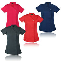 New Work hairdressing Spa Nail Salon Beauty Healthcare Therapist Tunic Uniform
