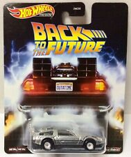 2020 Hot Wheels Premium BACK To The FUTURE Time Machine Diecast Model 1/64 Scale