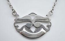 Vintage Ola Gorie Scottish Sterling Silver Pendant Necklace from Orkney