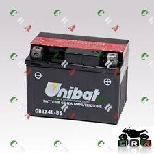 CBTX4L-BS BATTERIA MOTO/SCOOTER NUOVA ORIGINALE UNIBAT PER PIAGGIONRG50
