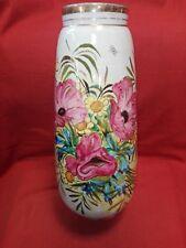Vaso in ceramica Gualdo Tadino cm 40x16 Antikidea