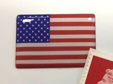 USA Stars & Stripes Flag Sticker Super Shiny Domed Finish 30mm