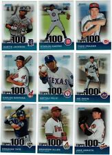 2010 Bowman Chrome Topps 100 Top Prospects /999 You Pick Finish Your Set
