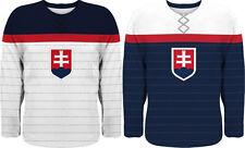 NEW 2019 Team Slovakia Hockey Jersey Anthem Design Limited Fan Edition