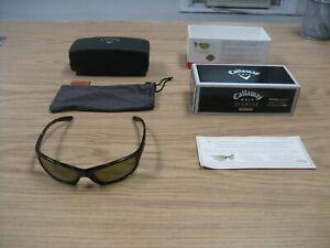 Men's Callaway Golf Sport Sunglasses with Original Box & Case