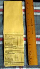 VINTAGE 20 (twenty) Payroll Envelopes for check or CASH $ $