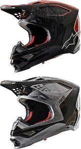 Alpinestars Supertech M10 Alloy Helmet - Motocross Dirtbike Offroad Adult