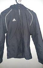 vintage rare GUC 2007 Adidas hoodie soccer jacket ORIGINAL MENS SMALL BLACK