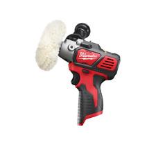 "Milwaukee M12 3"" Variable Speed Polisher/ Sander Bare Tool +Accessories #2438-20"