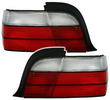 Rückleuchten Set Rot WEIß für 3er BMW E36 Cabrio + Coupe Heckleuchten RETRO