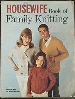Housewife Book Of Family Knitting Pattern Book March 1966 Vintage Swinging 60s